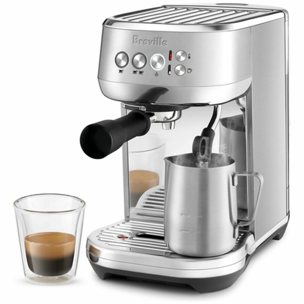 NEW Breville The Bambino Plus Espresso Stainless Steel ...