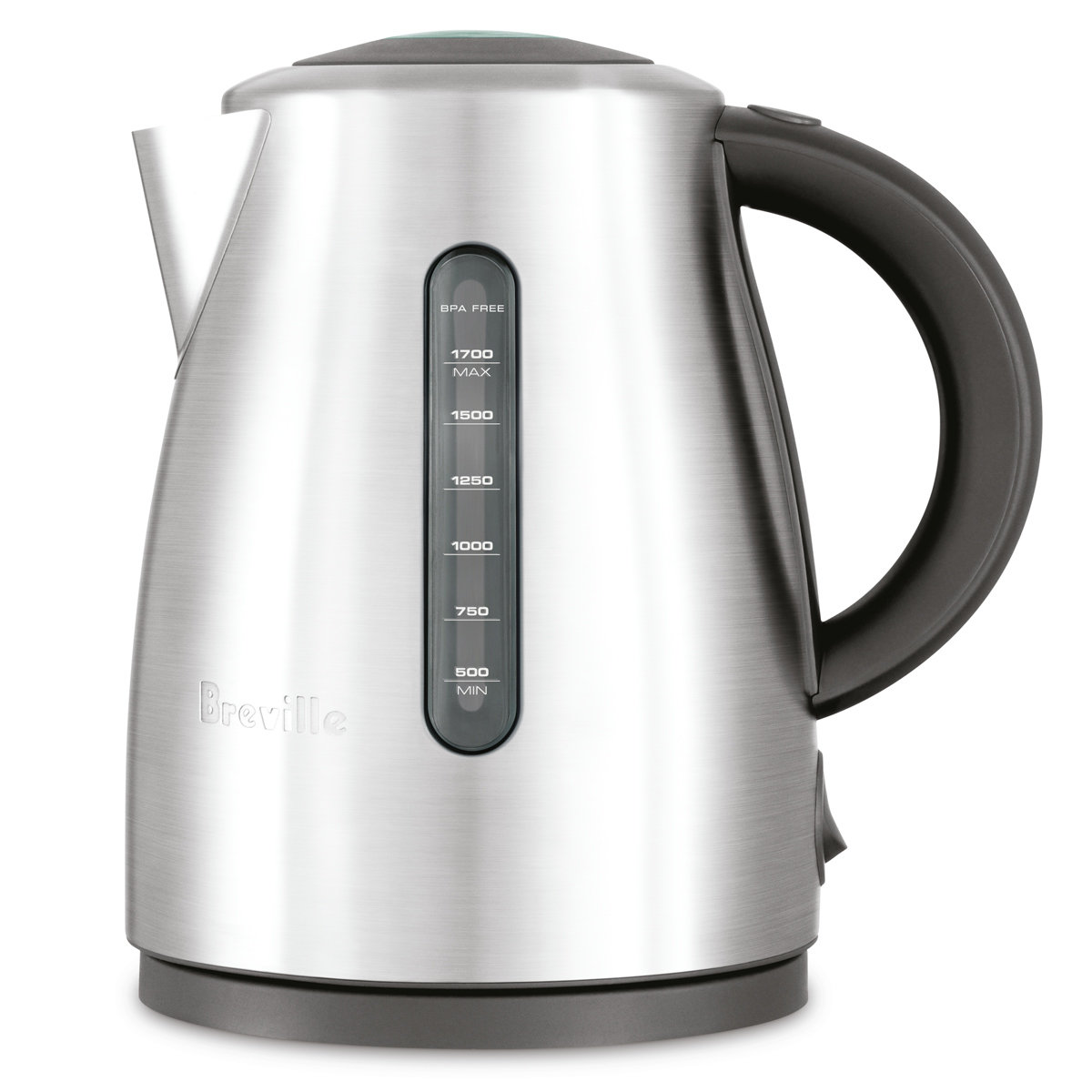 Breville BKE495BSS 1 7L the Soft Top Clear Kettle