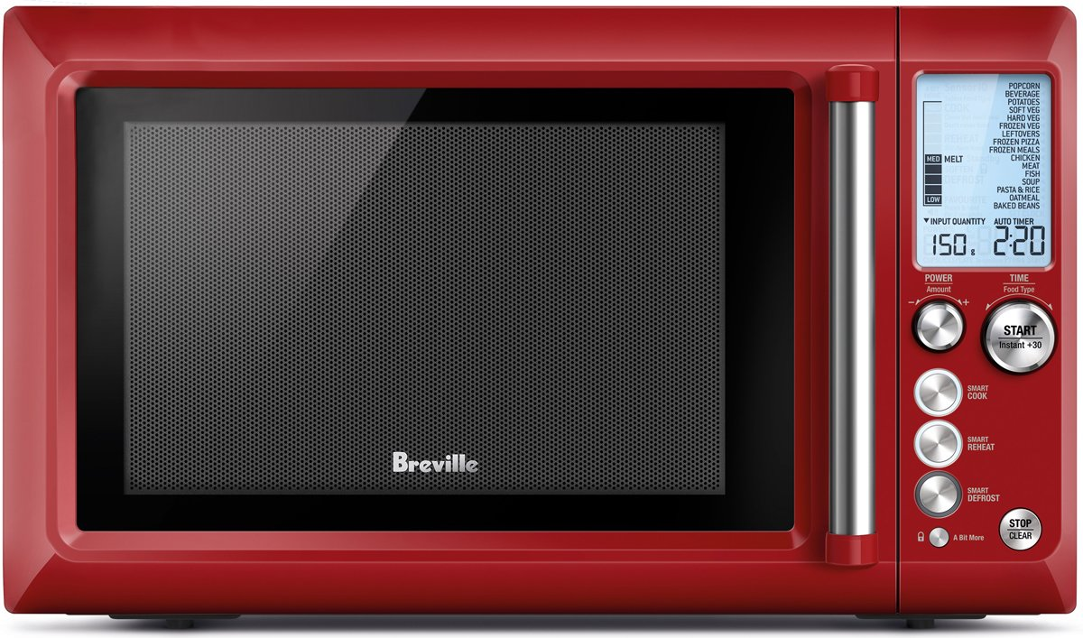 Breville BMO735CR Quick Touch Microwave Oven 1100W | Appliances Online