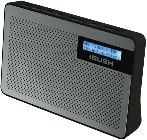 new bush br25dab digital dab and fm radio ebay. Black Bedroom Furniture Sets. Home Design Ideas