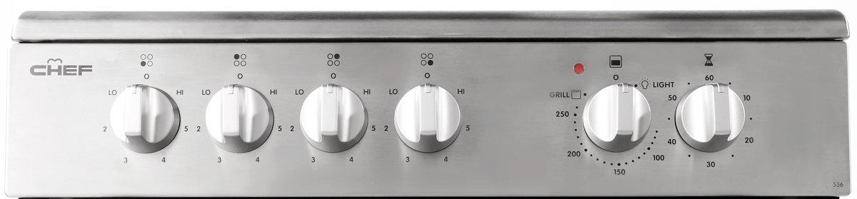 Chef CFE536SA Freestanding Electric Oven/Stove