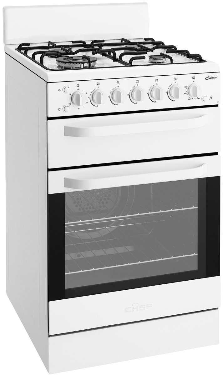 Freestanding Chef Gas Oven/Stove CFG517WALP Reviews ...