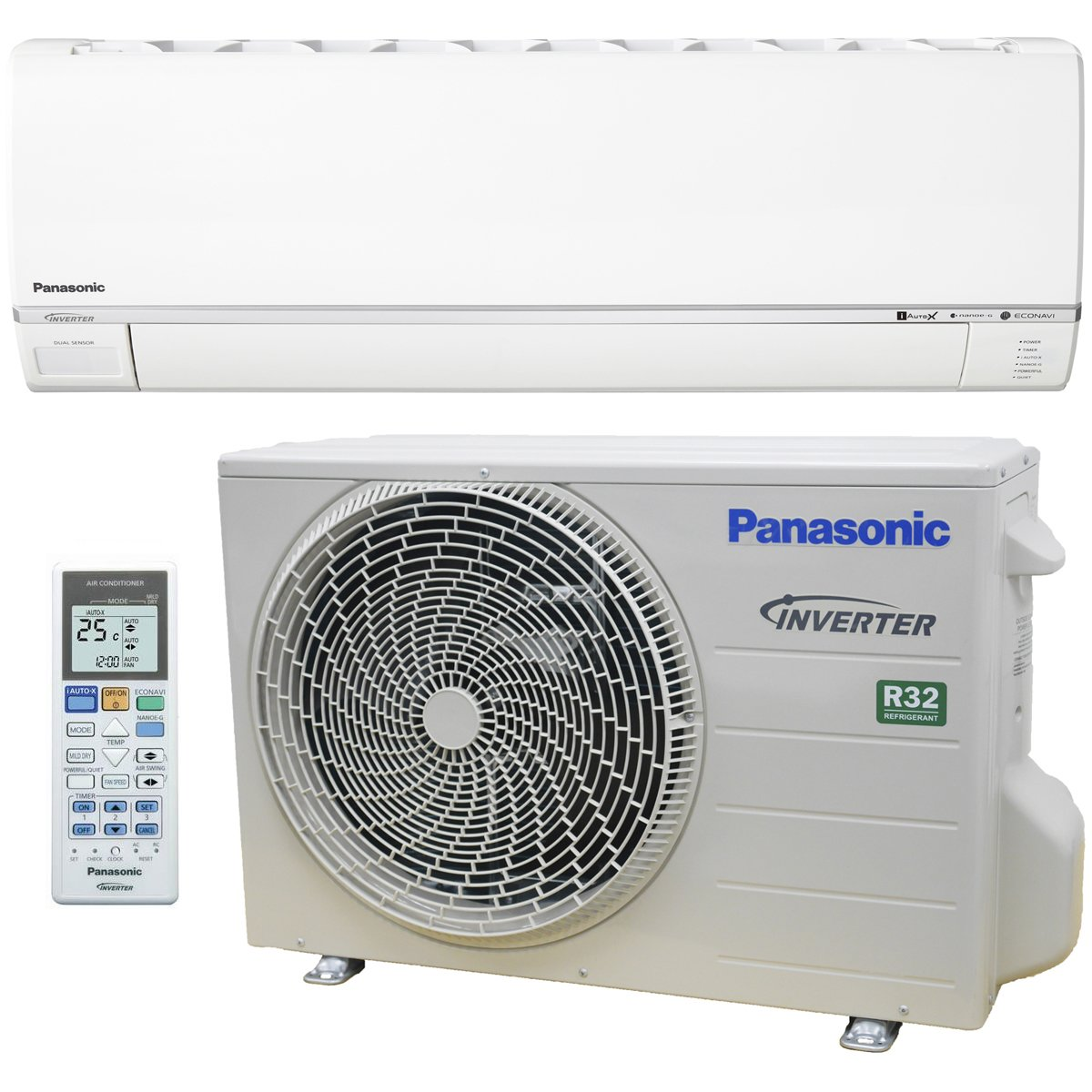 Panasonic 3 5kW Reverse Cycle Inverter Air Conditioner CSCU-Z12RKR