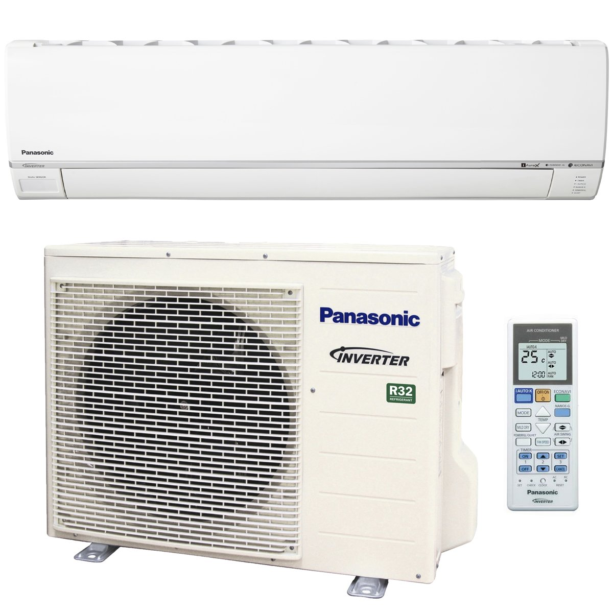 panasonic cscu-z21rkr 6kw reverse cycle inverter air conditioner