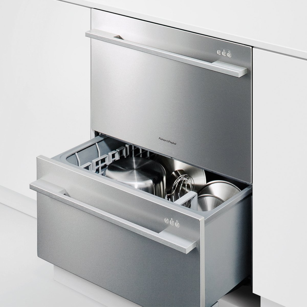Superior Fisher U0026 Paykel DD60DDFX7 DishDrawer Double Dishwasher | Appliances Online