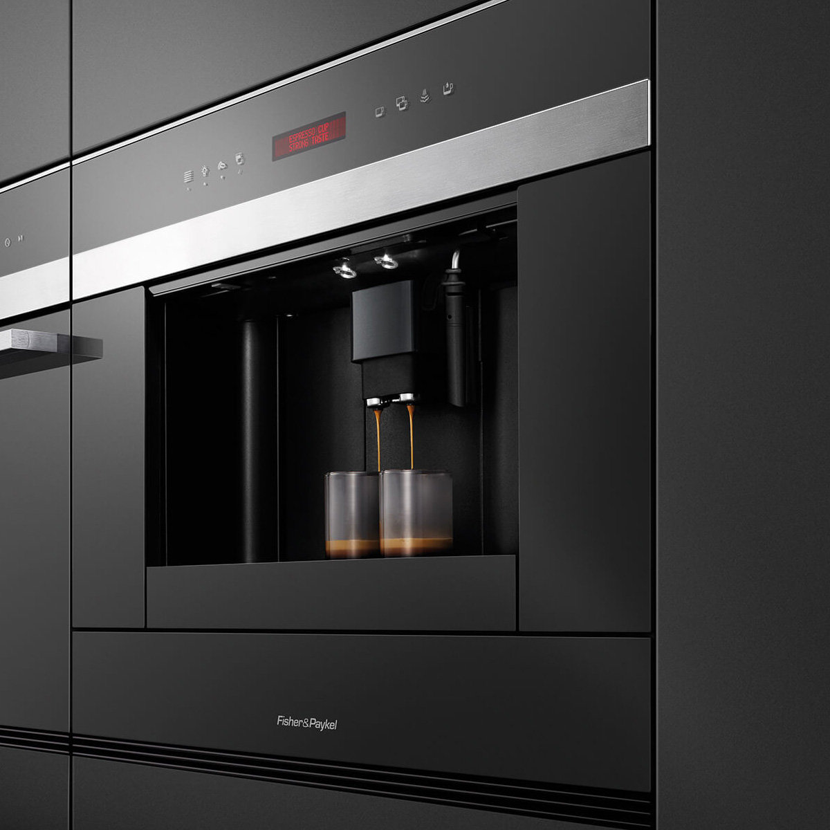 Fisher paykel eb60dsxb1 built in coffee machine appliances online