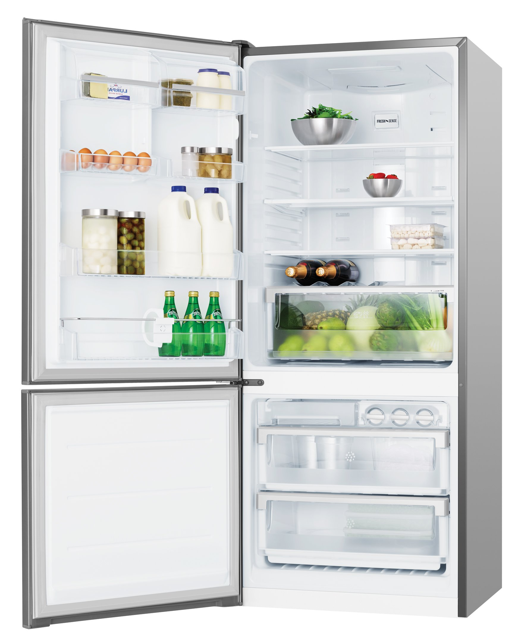 electrolux fridge. electrolux ebe4300sdl 430l bottom mount fridge. product video fridge