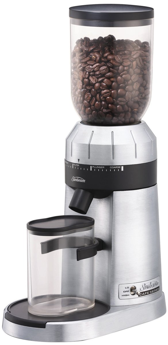 Sunbeam Em0480 Cafe Series Conical Burr Grinder Appliances Online