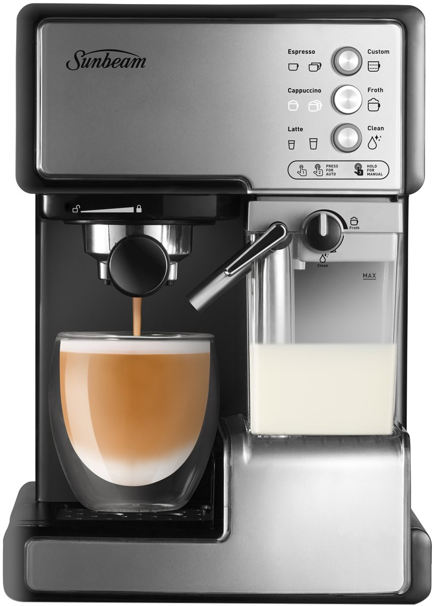 sunbeam coffee machine em4800c manual