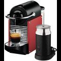 Delonghi EN125RPLUS Nespresso Pixie Coffee Machine - Hero Image