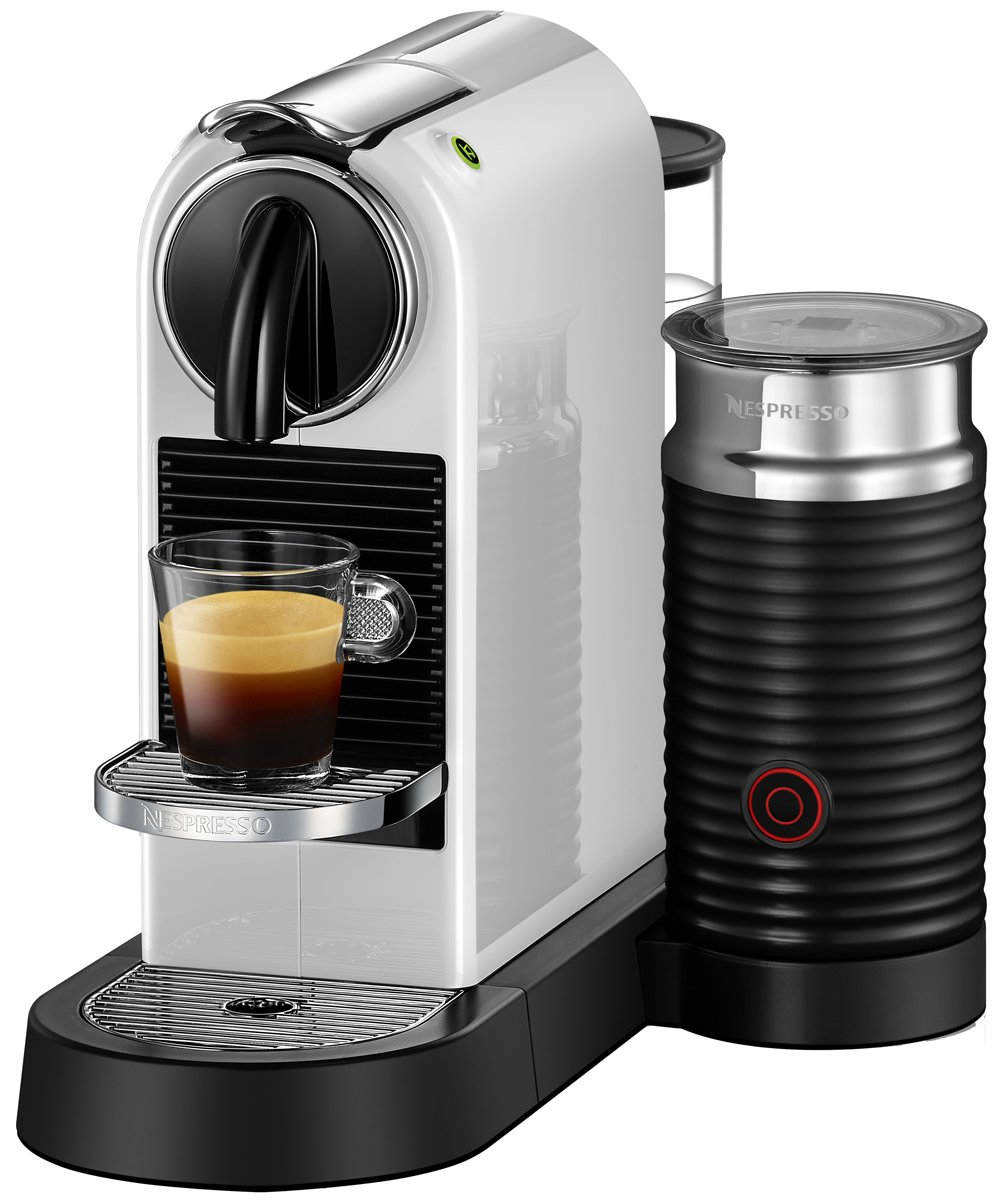 new delonghi en267wae nespresso citiz milk coffee machine ebay. Black Bedroom Furniture Sets. Home Design Ideas