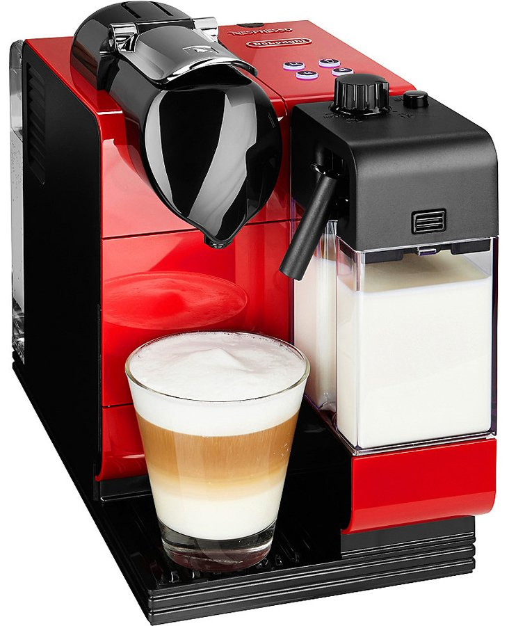 Delonghi EN520R Nespresso Lattissima+ Coffee Machine | Appliances ...