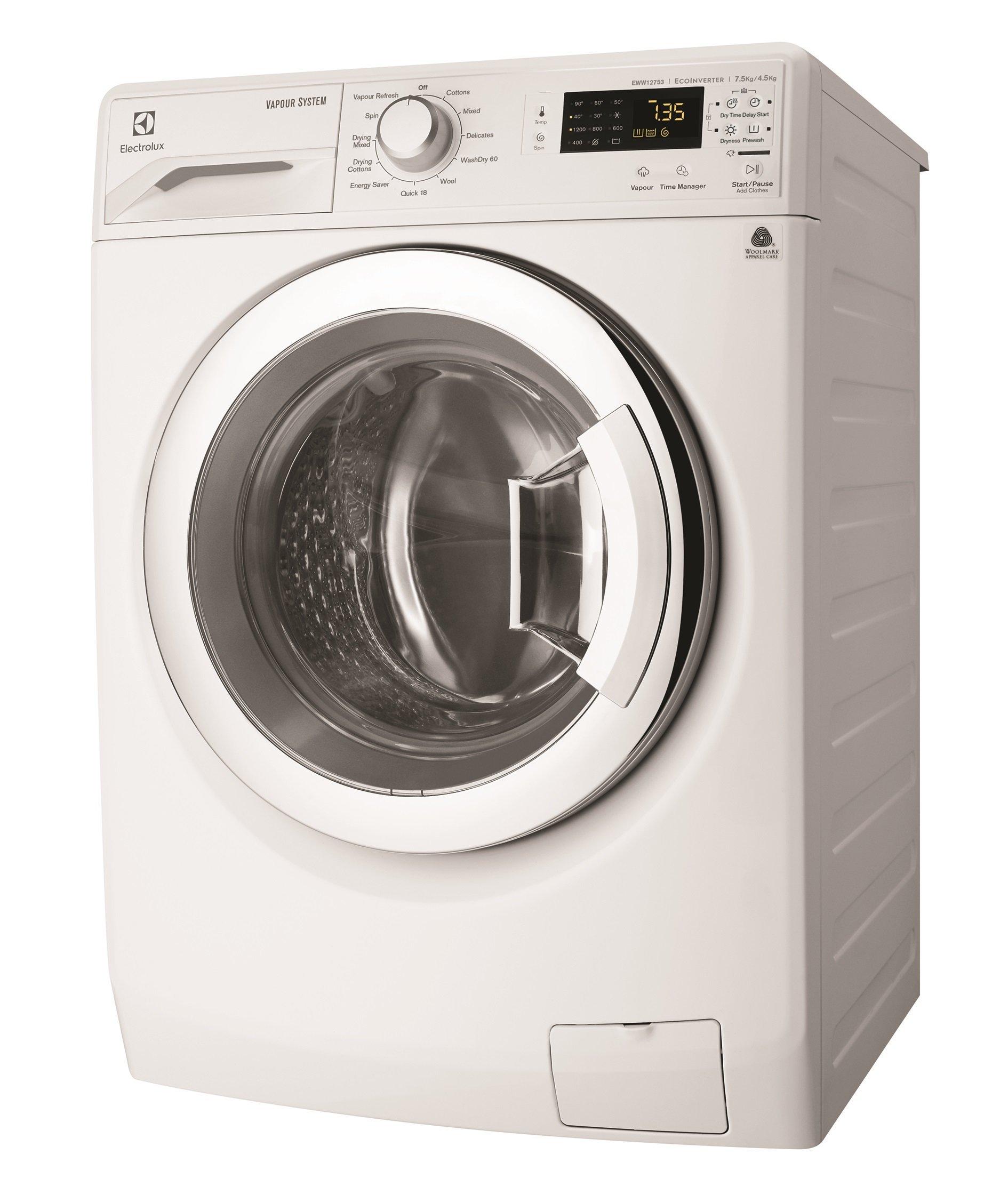 New Electrolux Eww12753 7 5kg Washer 4 5kg Dryer Combo Ebay