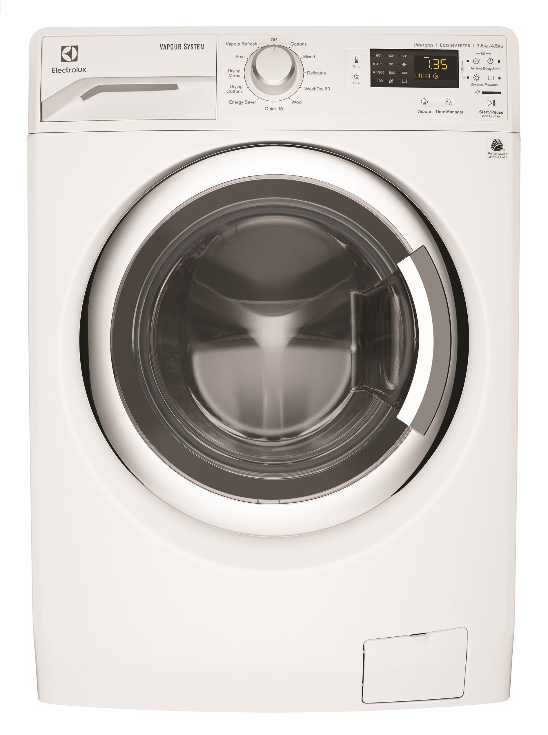 Electrolux EWW12753 75kg Washer 45kg Dryer Combo Appliances Online