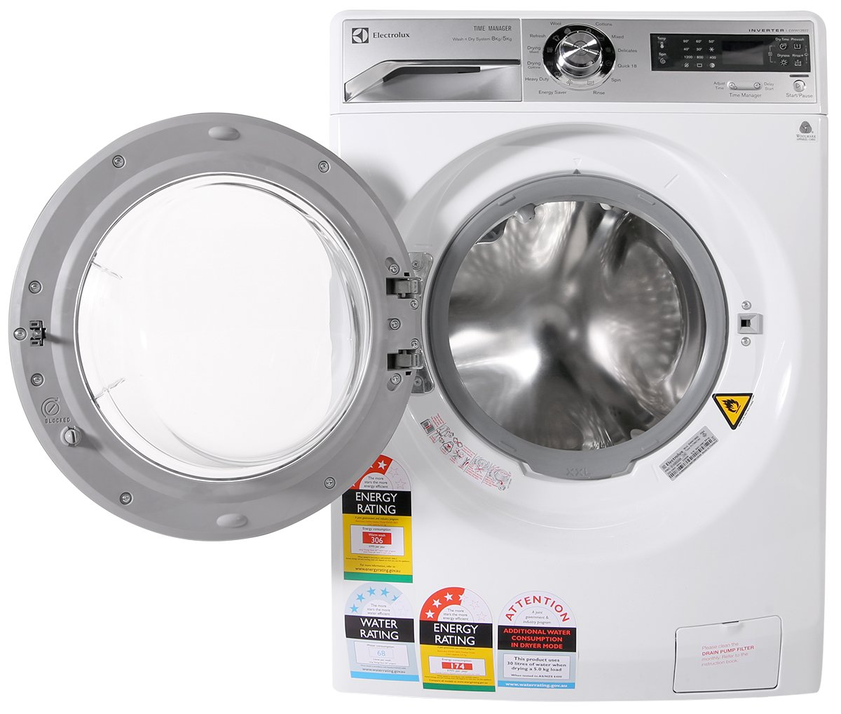 Electrolux washer and dryer credit energy star Electrolux washer and dryer
