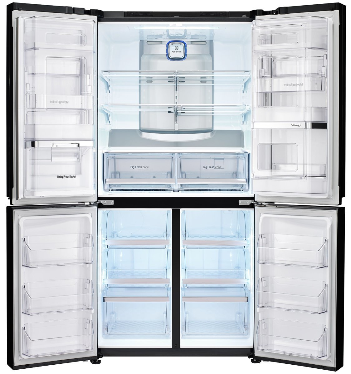 Door Fridge Open With Fridgedooropenalarm Circuit Lg Gf 6d725bgl 725l French Sc 1 St Appliances Online