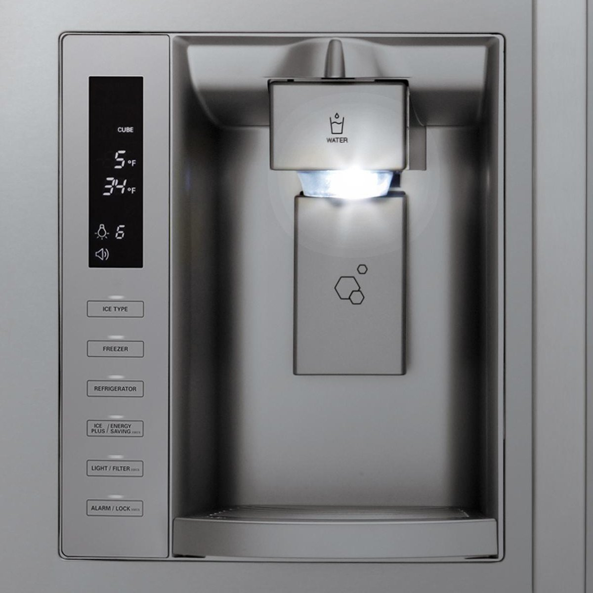 Lg Gf D613pl 613l French Door Fridge Appliances Online