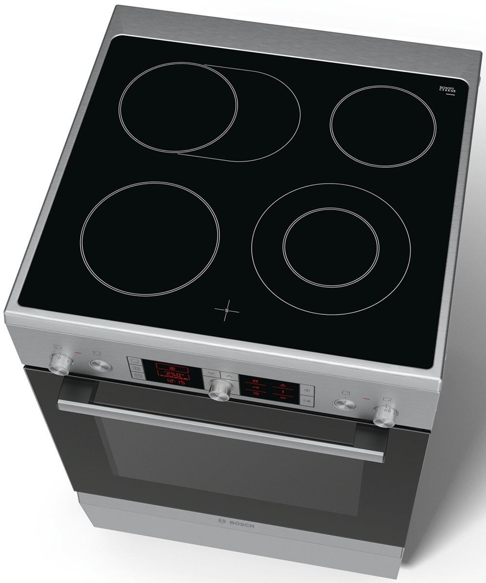 bosch hca854450a 60cm serie 4 freestanding electric oven stove