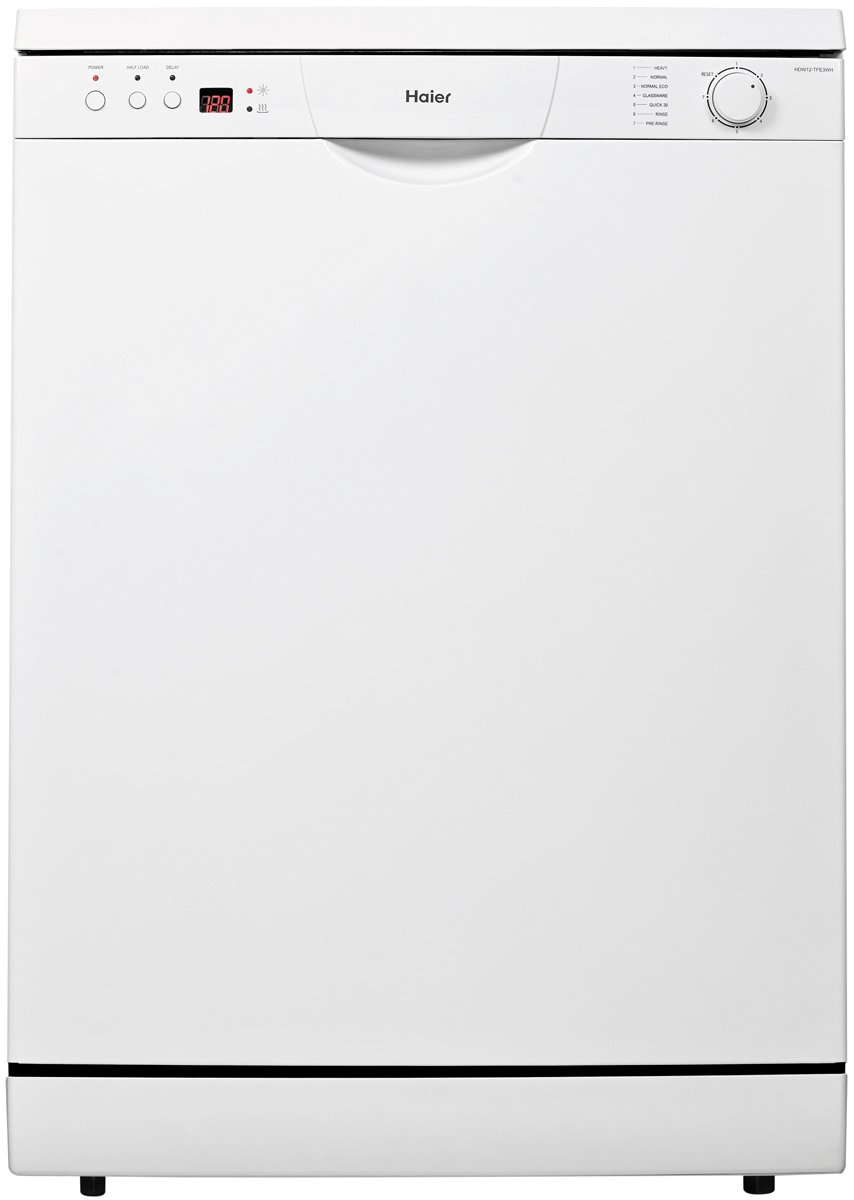 Haier HDW12-TFE3WH Freestanding Dishwasher. Unfortunately, this product is  not available.