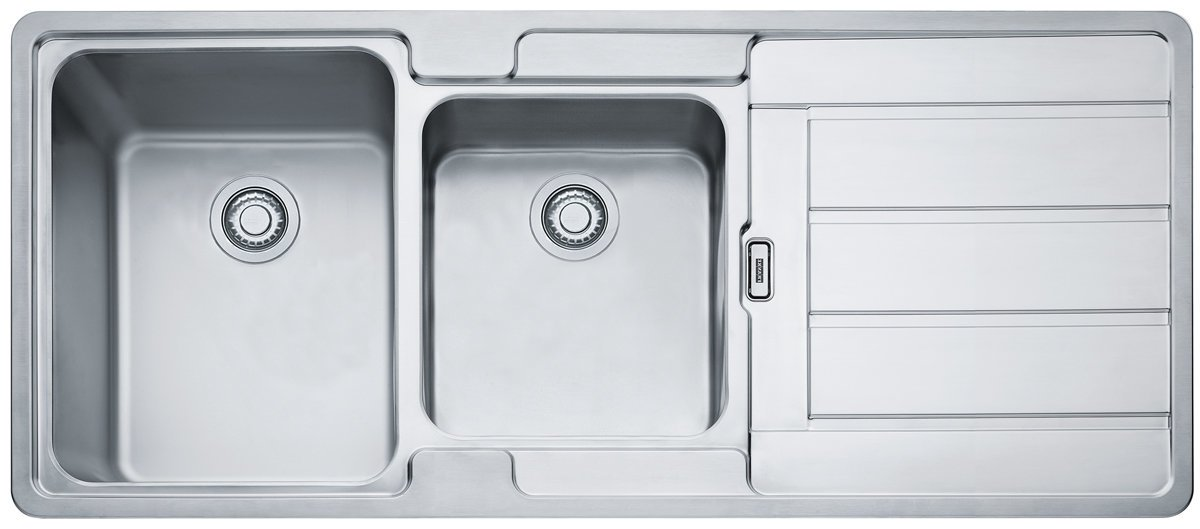 Franke HDX624RHD Hydros Double Bowl Right Hand Drainer Sink | Appliances  Online