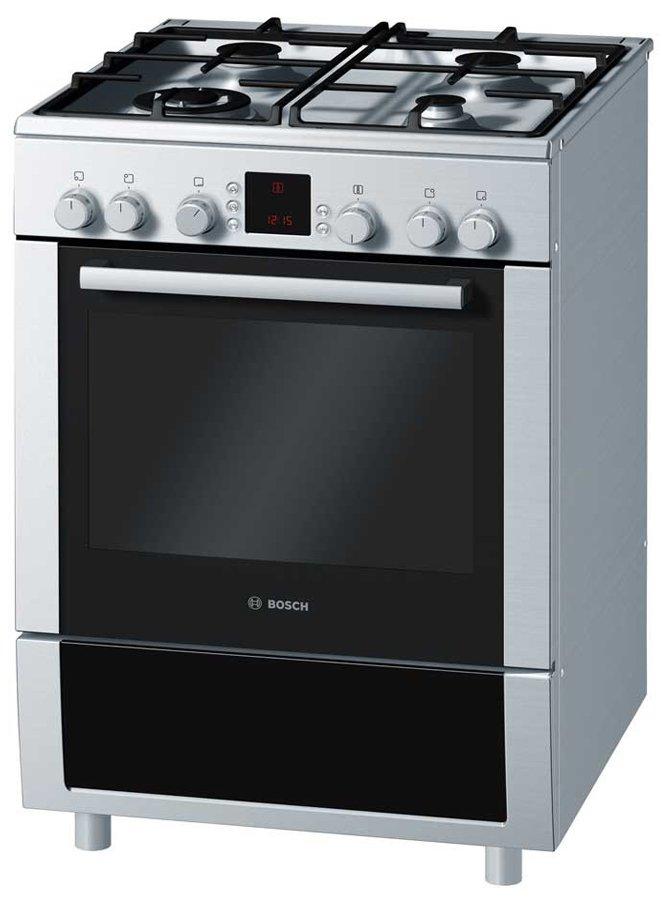New Bosch Hgv74w355a Freestanding Dual Fuel Oven Stove Ebay