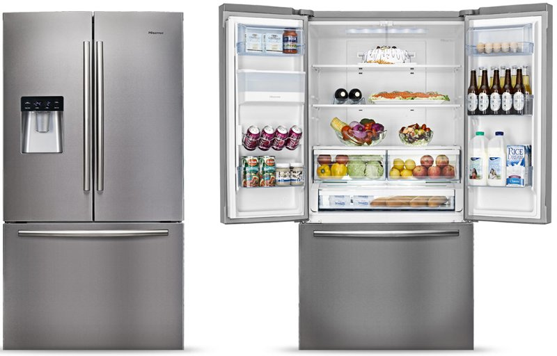 Hisense Hr6fdff630s 630l French Door Fridge Appliances Online