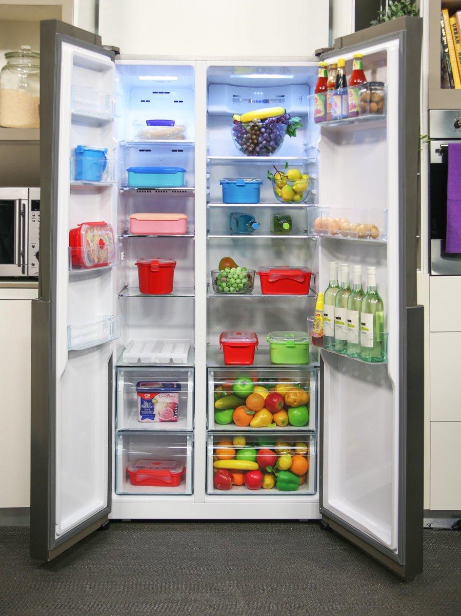 new haier 555l side by side fridge hsbs555as 9415112612279. Black Bedroom Furniture Sets. Home Design Ideas