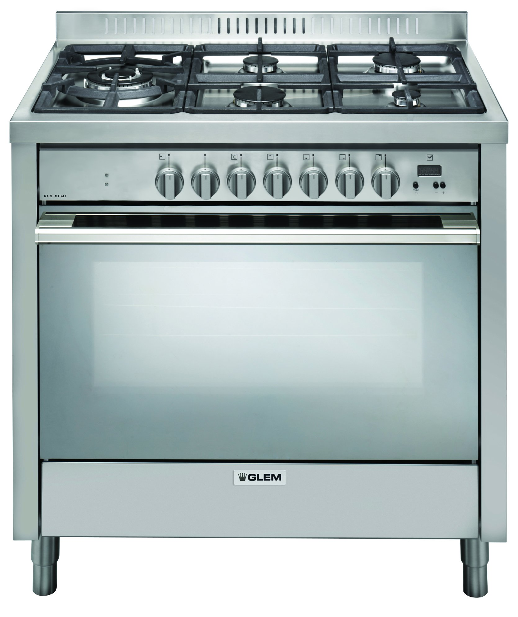 Glem IT965PROEI2 Freestanding Dual Fuel Oven and Stove | Appliances ...