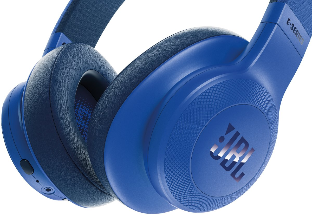 e7c4730df72 JBL JBLE55BTBLU Wireless Over-Ear Headphones | Appliances Online