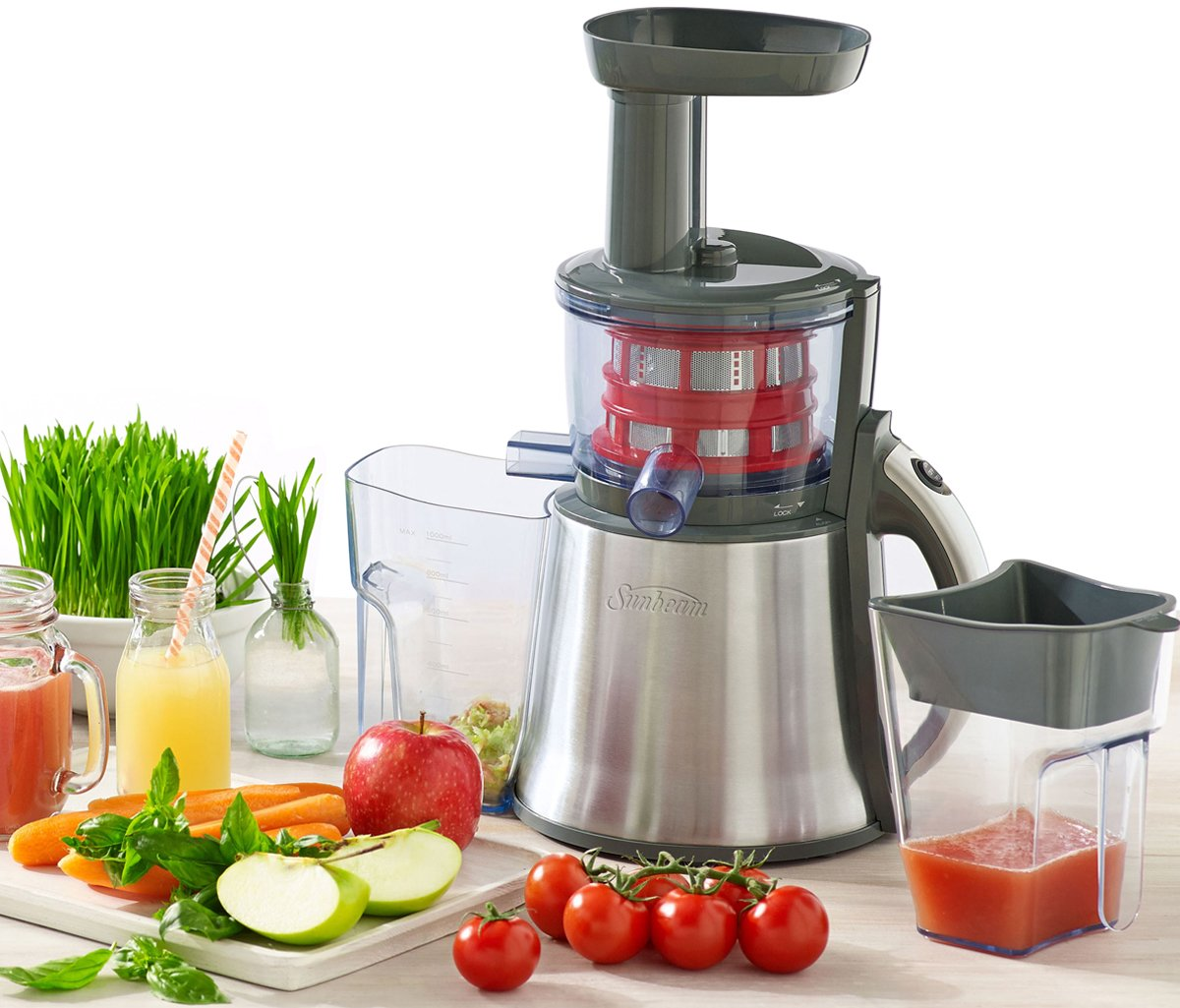 Je9000 Slow Juicer Stainless Steel : NEW Sunbeam JE9000 Slow Juicer eBay