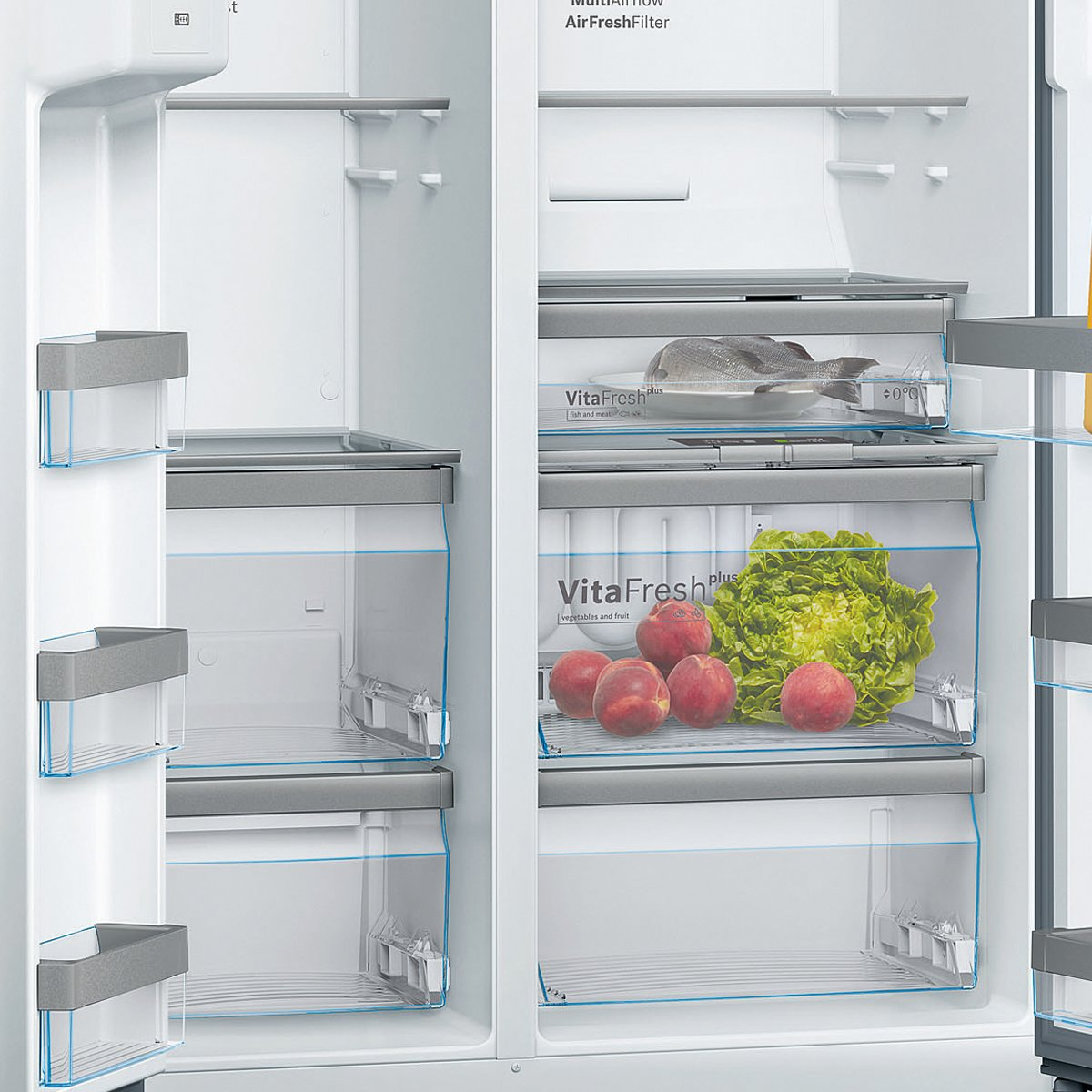 Bosch Kad92ai20a 633l Serie 6 Side By Side Fridge Appliances Online