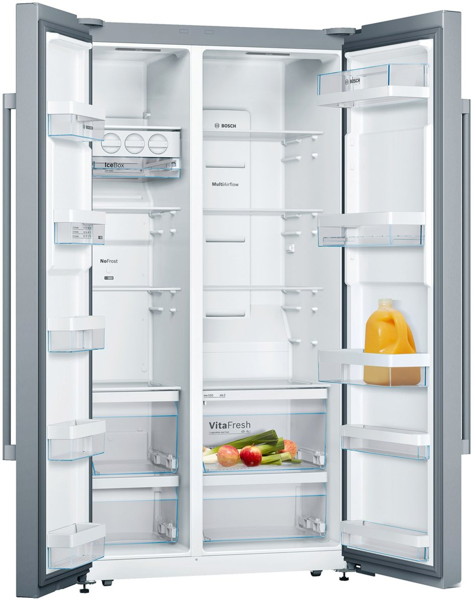 Bosch Kan92vi30a 652l Serie 4 Side By Side Fridge Appliances Online