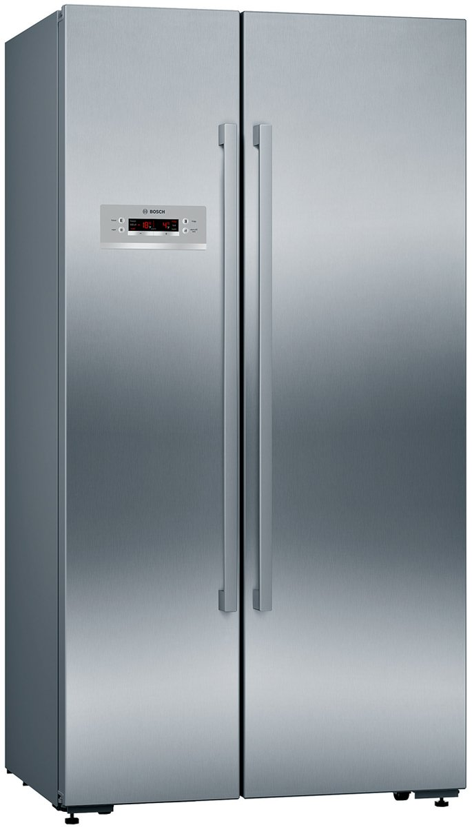 details about new bosch kan92vi30a 652l side by side fridge. Black Bedroom Furniture Sets. Home Design Ideas