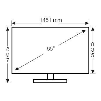 Sony Kd65x9000c 65 Inch 165cm 4k Ultra Hd Smart 3d Led Lcd Tv
