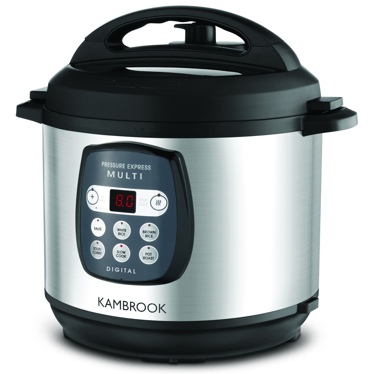 Kambrook KPR820BSS Pressure Express Multi Cooker | Appliances Online