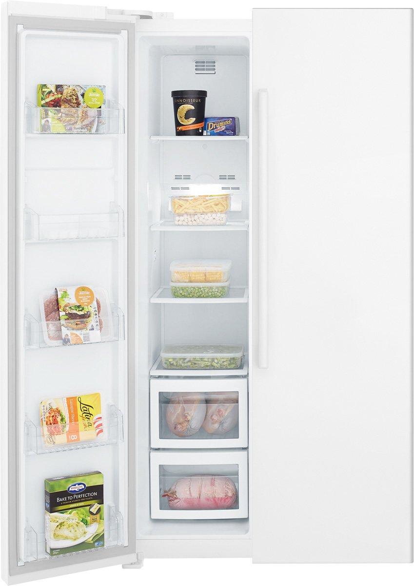 kelvinator kse6200wa 620l side by side fridge