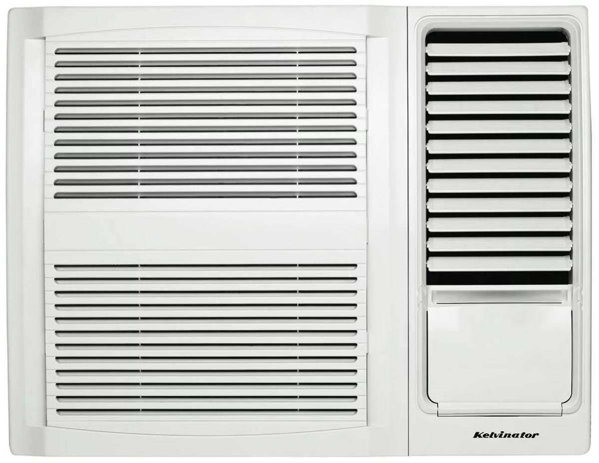 Kelvinator KWH15CME 1.6kW Window Box Air Conditioner (Cooling only) - FREE Delivery & Price Match* image