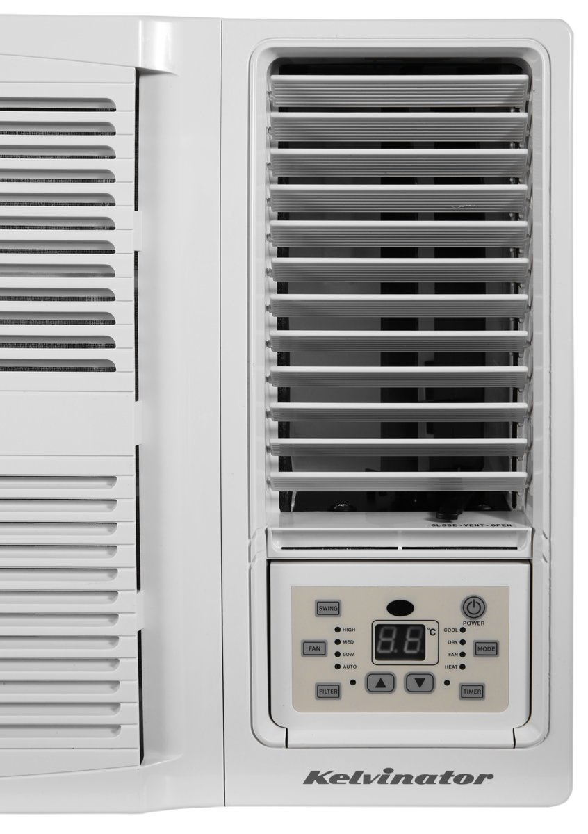 kelvinator kwh20hre 2.2kw window box reverse cycle air conditioner