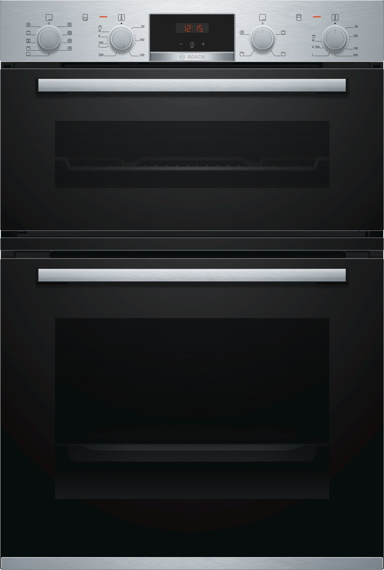 New Bosch Mba534bs0a 60cm Serie 4 Built In Double Oven Ebay