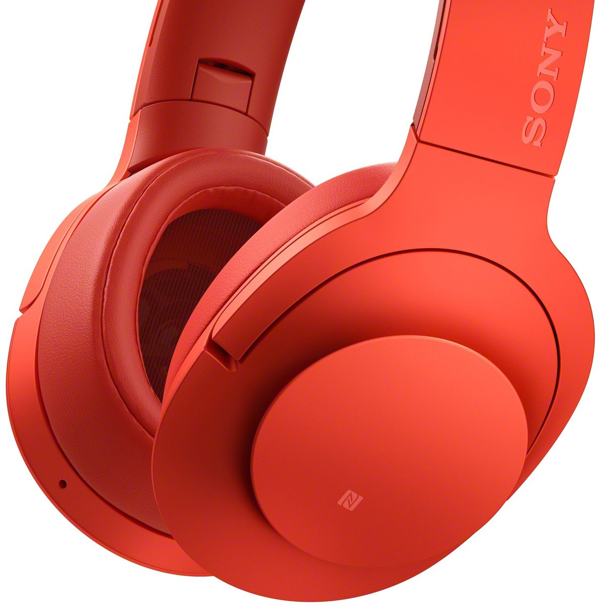 Sony Mdr100abnr Wireless Over Ear Headphone With Bluetooth And Nfc Hear On Noice Cancelling Mdr 100abn Blue
