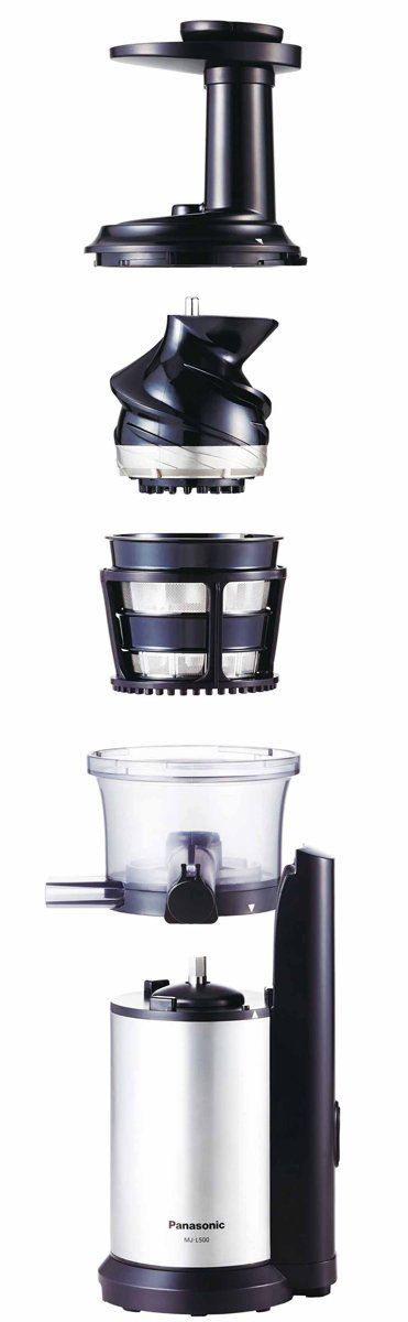 Slow Juicer Panasonic Mj L600 : Panasonic MJ-L500SST Slow Juicer Appliances Online