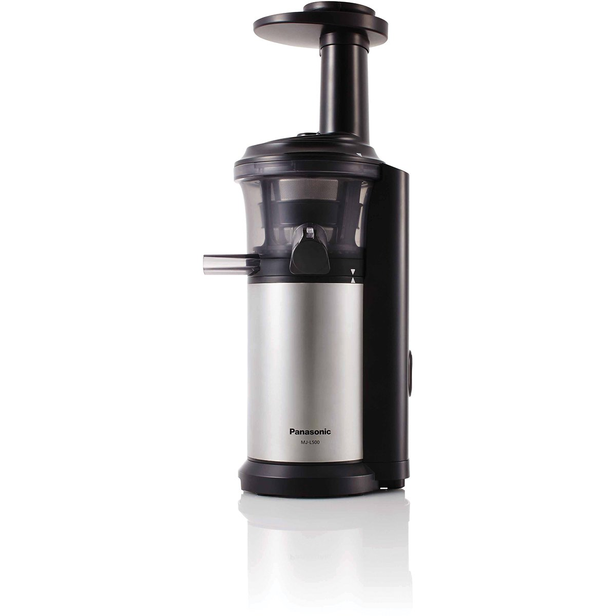 Panasonic Slow Juicer Vs Omega : Panasonic MJ-L500SST Slow Juicer Appliances Online