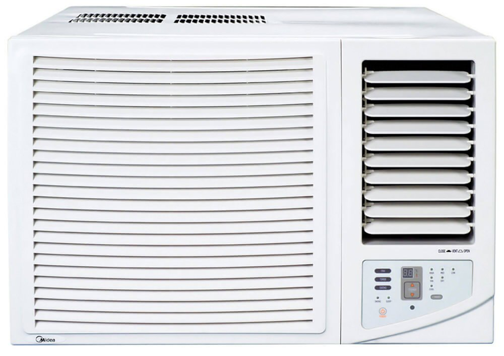 Midea MWF07HB4 2 23kW Window Box Reverse Cycle Air Conditioner