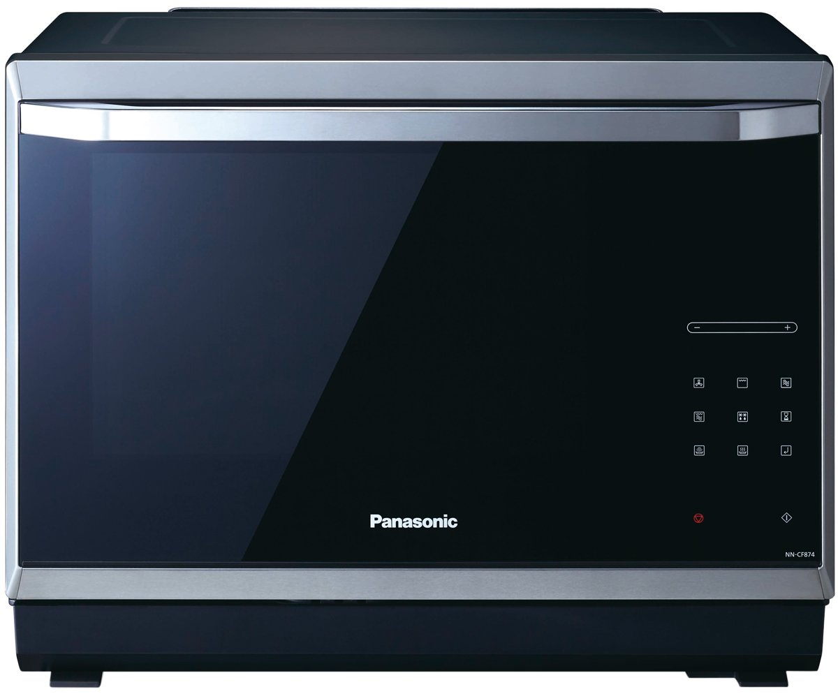 panasonic nn cf874bqpq 32l convection microwave 1000w appliances rh appliancesonline com au panasonic convection microwave user manual panasonic dimension 4 genius microwave convection oven manual