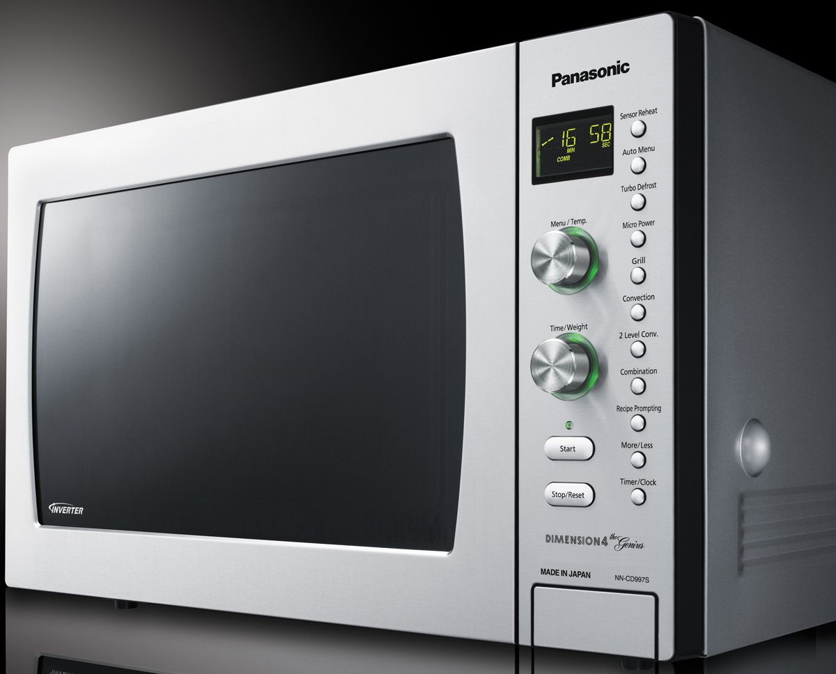 panasonic nncd997s 42l genius convection microwave oven 1000w rh appliancesonline com au panasonic convection microwave user manual panasonic dimension 4 genius microwave convection oven manual