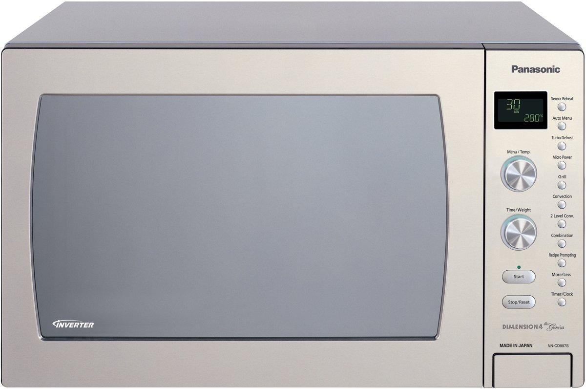 Panasonic NNCD997S 42L Genius Convection Microwave Oven 1000W | Appliances  Online