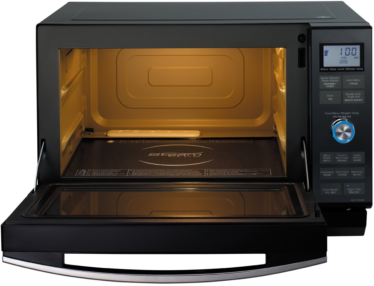 Panasonic Nnds592b 27l Combination Steam Microwave 1000w