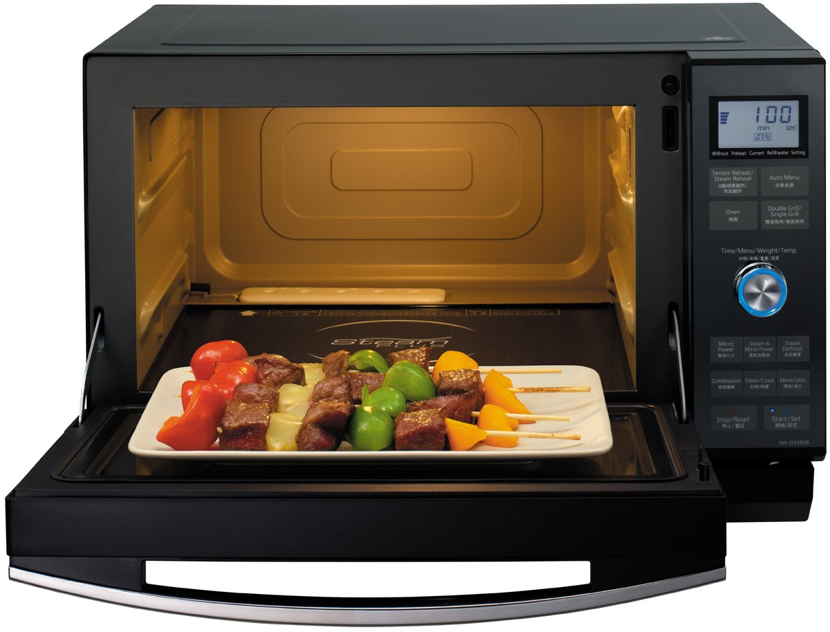 Charmant Panasonic NNDS592B 27L Combination Steam Microwave 1000W | Appliances Online
