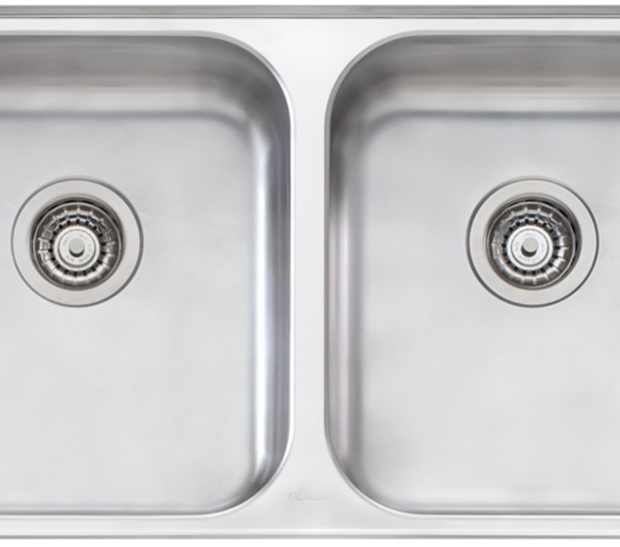 Oliveri NP60U Nu Petite Double Bowl Undermount Sink
