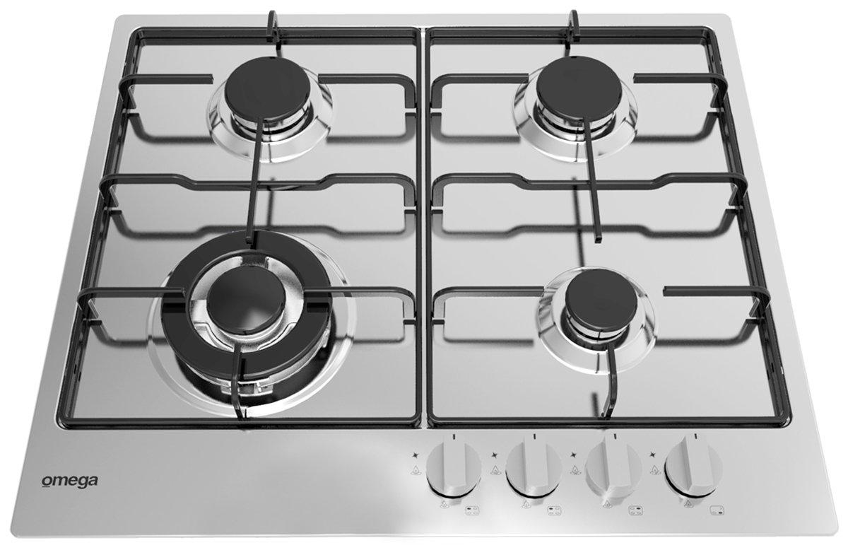 Omega OCG61X Gas Cooktop | Appliances Online